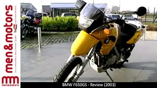 6. BMW F650GS - Review (2003)