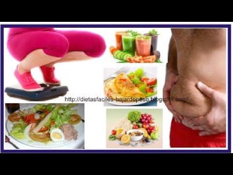 Dietas para adelgazar -  Dieta para adelgazar 10 kilos en una semana  Como adelgazar 10 kg de manera correcta