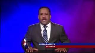 Héctor Acosta siente temor por la delincuencia