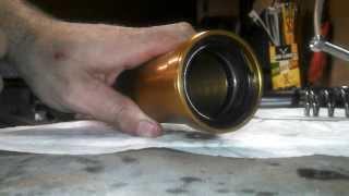 8. How To: Replace Fork Seals -  03-04 Kawasaki Ninja ZX-6R 636 2003 2004 B1 B2