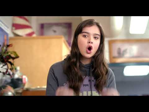 The Edge Of Seventeen- The Break Scene (Haley Steinfeld)