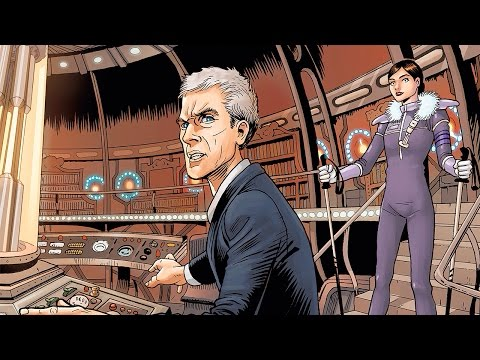 New Doctor Who: The Twelfth Doctor Graphic Novel Trailer