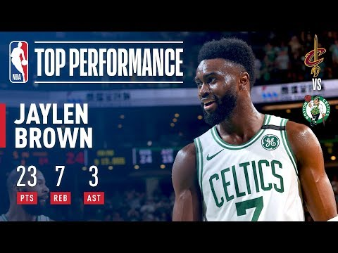 Jaylen Brown Leads Celtics To A 2-0 Series Lead vs The Cavaliers