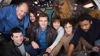 Star Wars Releases First Han Solo Film Cast Photo
