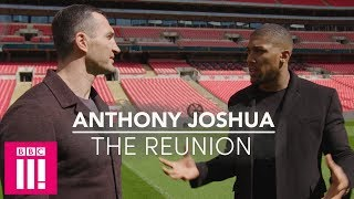 Video Anthony Joshua & Wladimir Klitschko Reunite 1 Year After The Big Fight MP3, 3GP, MP4, WEBM, AVI, FLV Oktober 2018