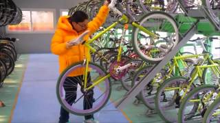 video thumbnail Two Stairs Bicycle Rack youtube
