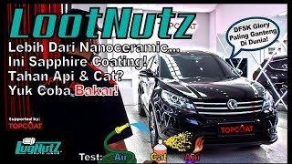 Video COATING MOBIL KEKINIAN PAKAI SAPPHIRE! TAHAN API? - LootNutz TOPCOAT | LugNutz Indonesia MP3, 3GP, MP4, WEBM, AVI, FLV Desember 2018
