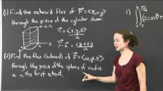 Flux Through Surfaces | MIT 18.02SC Multivariable Calculus, Fall 2010