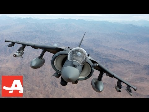 Retired Marine Pilot Purchases His Very Own Harrier Jump