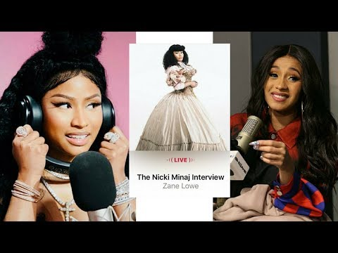 NICKI MINAJ Says CARDI B Hurt her FEELINGS and made her LOOK BAD! (INTERVIEW AUDIO)