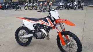 7. 2017 KTM 150 sx Overview and Review