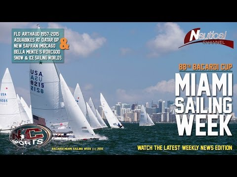 Bacardi Miami Sailing Week, Florence Arthaud, RORC600, Safran Imoca60,Aquabike QatarGP, Snow Sailing