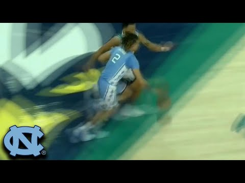 North Carolina's Cole Anthony Finishes One Man Fastbreak With Nasty Jam