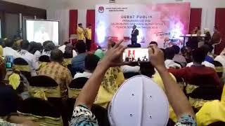 Debat Publik, Tafa'dal Akui Sukses Atasi Disabilitas dan Pernikahan Dini di Bone