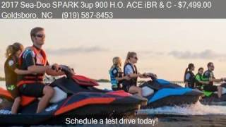 9. 2017 Sea-Doo SPARK 3up 900 H.O. ACE iBR and C  for sale in G