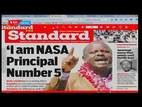 Incumbent Nyamira Governor-John Nyang'arama scoops ODM nominations with 17,487 votes