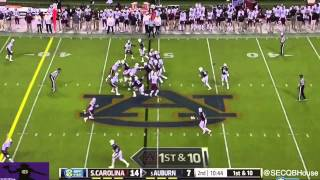 Nick Marshall vs South Carolina (2014)