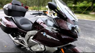 8. 2013 BMW K1600GTL in Red at Euro Cycles of Tampa Bay