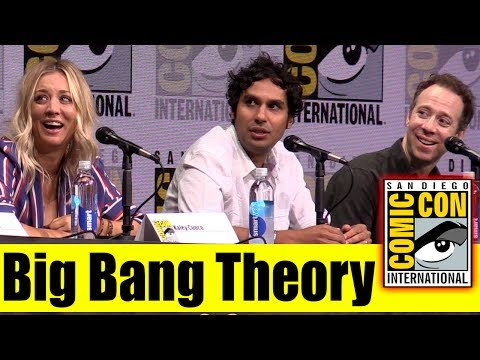 Big Bang Theory | Comic Con 2017 Full Panel