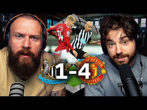 NEWCASTLE 1-4 MAN UTD | True Geordie RANT!