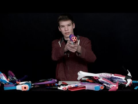 Nerf Rebelle Series Comparison - Which Should I Get 2014