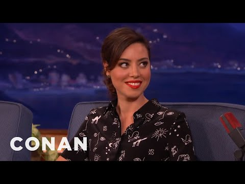 "Aubrey Plaza: ""I've Been Very Hormonal Lately""  – CONAN on TBS"