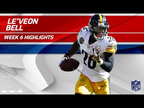 Video: Le'Veon Bell's Big Game w/ 179 Rush Yards & 1 TD