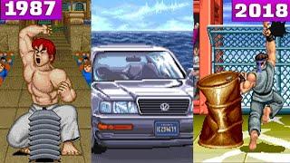 The Evolution of  Bonus Stage in Street Fighter ( 1987 - 2018 ) ストリートファイタスーパ by DigitalModz