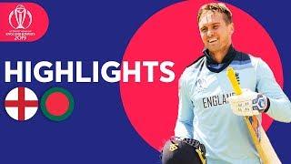 England vs Bangladesh | ICC Cricket World Cup 2019 - Match Highlights