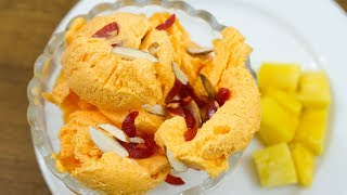 """Mango Ice Cream recipe is easy to prepare, no eggs are used and is made by using the base of heavy whipped cream, Sugar, Milk & Fresh Mango puree. It's quick, delicious, refreshing, and much much better than store bought ice creams. """" HAPPY COOKING""""---------------------------------------------------------------------------------Subscribe My YouTube channel for Recipe Videos:https://www.youtube.com/NOvenCakeCookies---------------------------------------------------------------------------------Like my FB Page for update info:https://www.facebook.com/NahidaOven/---------------------------------------------------------------------------------Follow Us on Twetter:https://twitter.com/nahidaoven---------------------------------------------------------------------------------We Are on Pinterest also:https://www.pinterest.com/nahidaoven/© N'Oven®"""