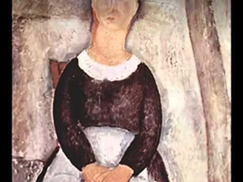 Erik Satie - Sarabande nr 1. - Amedeo Modigliani.