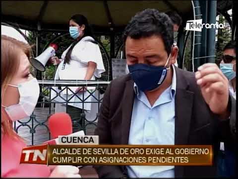 Alcalde de Sevilla de Oro exige al gobierno cumplir con asignaciones pendientes