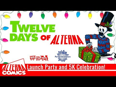LAUNCH PARTY! Twelve Days of Alterna on Indiegogo PLUS 5K Subscriber Giveaway!