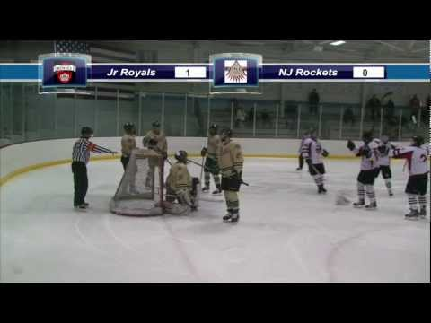 3/10/13  MJHL Playoffs vs NJ Rockets