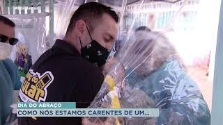 Como comemorar o dia do abraço na pandemia?