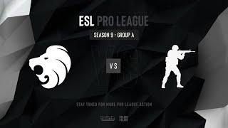 North vs ex-Space Soldiers - ESL Pro League Season 9 EU- map2 - de_train [Smile & Craggy]