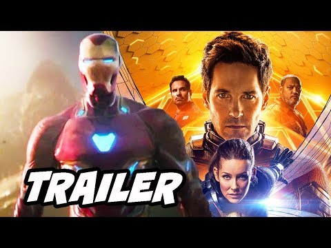 Ant-Man and The Wasp Avengers Infinity War Trailer and Avengers 4 Breakdown (видео)