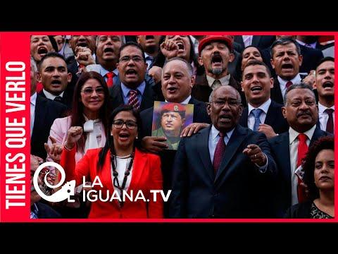 Pueblo chavista entró a la Asamblea Nacional