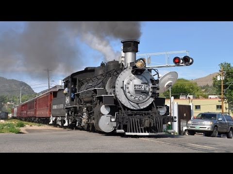 Train - All aboard! Come along for a look at several steam trains running in the western United States! Steam Trains Galore is a 28 minute long video that features n...