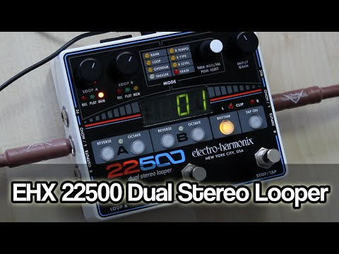 Electro-Harmonix 22500 | Dual Stereo Looper