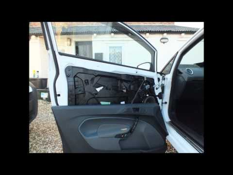 Ford Fiesta MK7 (2008-Present) Door Card Removal & Powerfold Mirror Fitting Guide