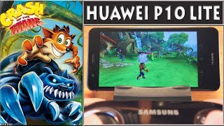 Game: Crash of the TitansHardware: Huawei P10 Lite + Samsung Game PadSoftware: PPSSPP PSP emulator