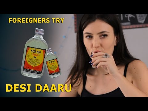 Video Foreigners Try Indian Local Alcohol (Desi Daru) download in MP3, 3GP, MP4, WEBM, AVI, FLV January 2017