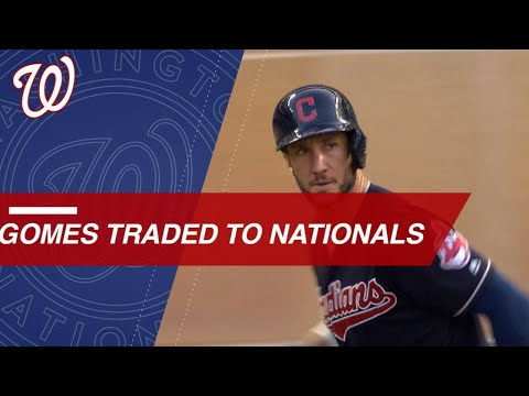 Video: Nationals acquire power potential in catcher Gomes