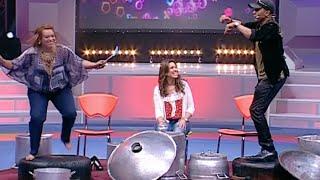 بالفيديو.. بشرى أهريش وسايمنز سايز منوضينها فوق ''القعدة''