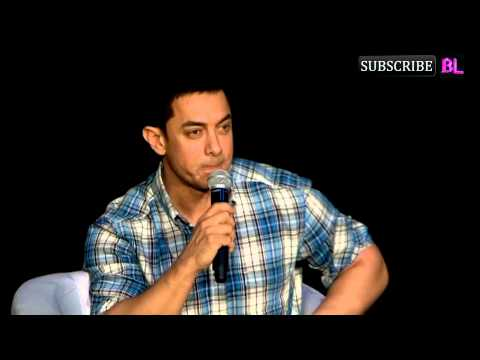Press Conference with Aamir Khan for Launch of Sat