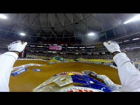 GoPro Sweep 2013 Monster Energy Supercross from Atlanta