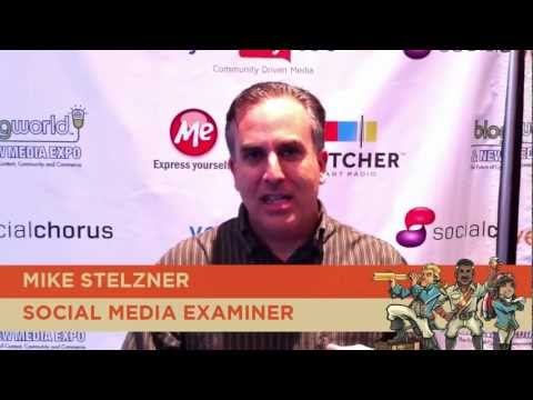 Mike Stelzner Gives Podcasting Tips: Agents of Change