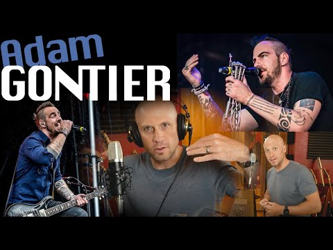 How to Sing Like Adam Gontier. Three Days Grace (Smooth & Controlled Dynamics & Distortion)