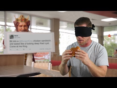 A Real Person Named Mahk Is Inserted Into a Blind Taste Test of Burger King s New Chicken
